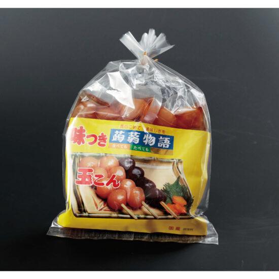 スナガ食品株式会社|味つけ玉こんにゃく (京風醤油味)