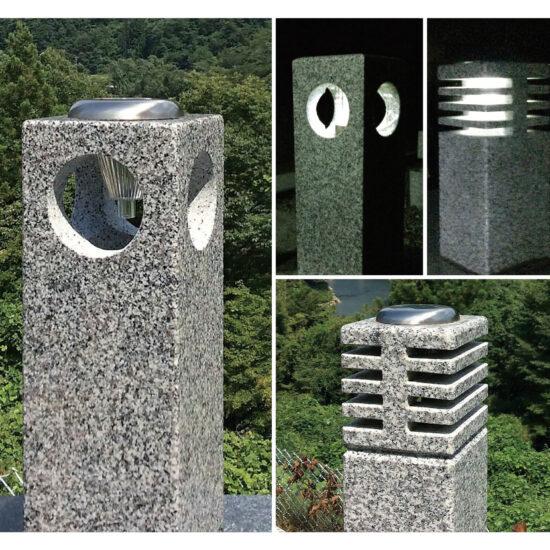 有限会社高草木石材 ガーデンライトスタンド