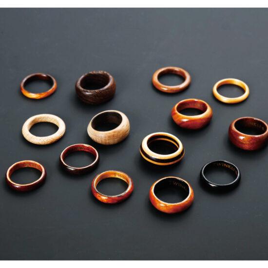 TWINKLE★S GREERING 木の指輪
