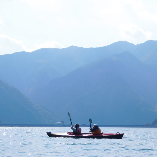 草木湖カヌー