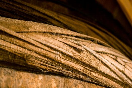 木桶の表面